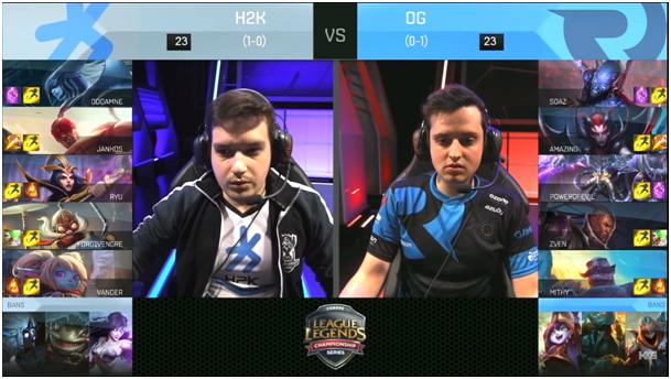 h2k-origen lineup